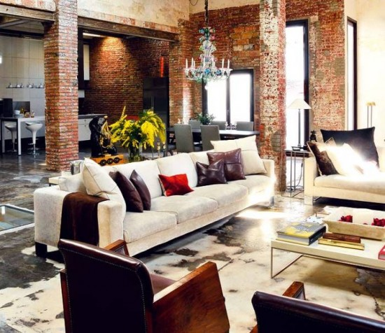 industrial interiors how to elements at home
