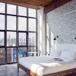 Concrete in the bedroom Ideas