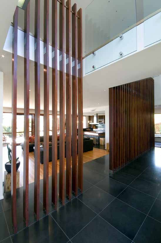 Dividing wall ideas to divide and concur elements at home - Wooden glass partition design ...