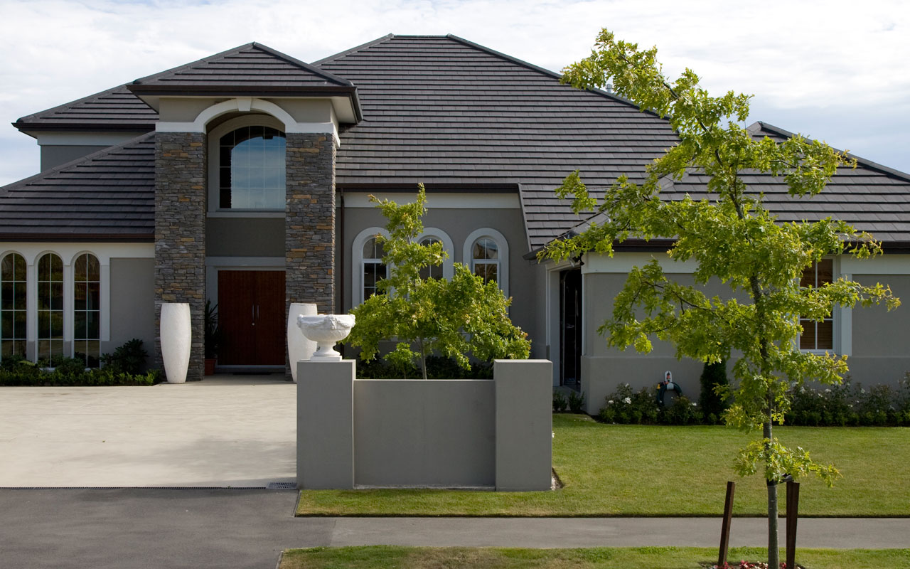 Roof colour ideas and solartiles elements at home - Exterior paint colours nz image ...
