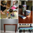 White Knight Blackboard Paint Furniture