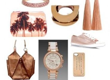 Shop this look. Copper and Pink Accessories