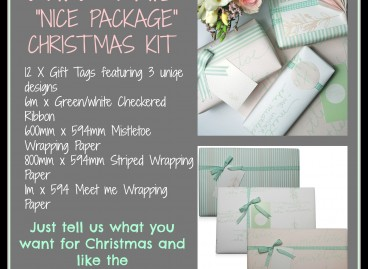 Nice Package. Win a Christmas Wrap Kit.