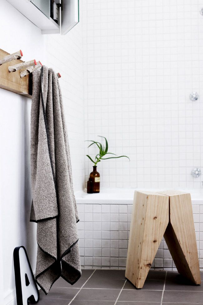 Which timber stool should you choose for your bathroom. - Elements ...