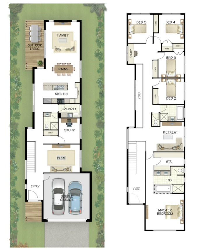 Narrow Lot Home Designs 100 Images Narrow Lot House