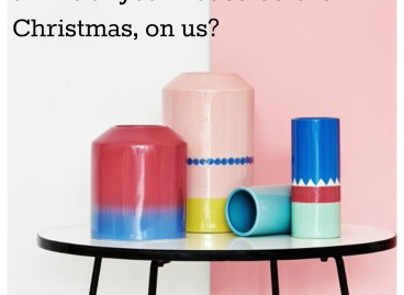 Arro Home, Created and Collected. Win 4 of their Vases