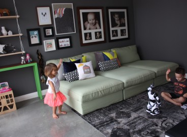 The Playroom Before and After….there is so much to see.