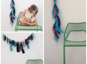 Feather Wall Hangings