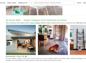 Today you can find me on Houzz.