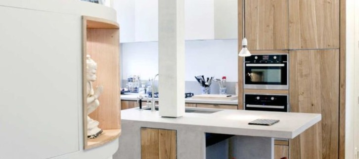 Timber on timber. Kitchen design tips.