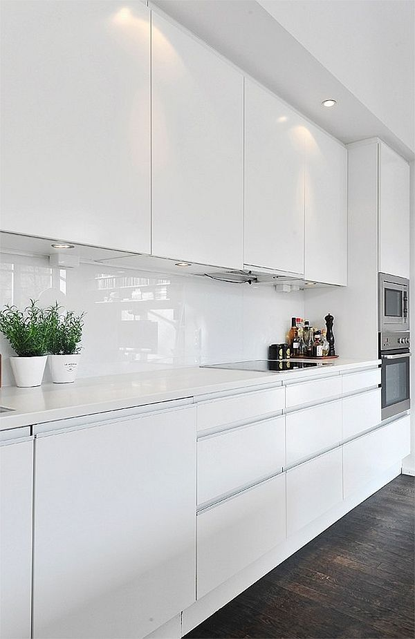 White Splashbacks do not have to be boring They can be interesting