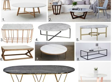 Marble Coffee Tables, Shop my links.